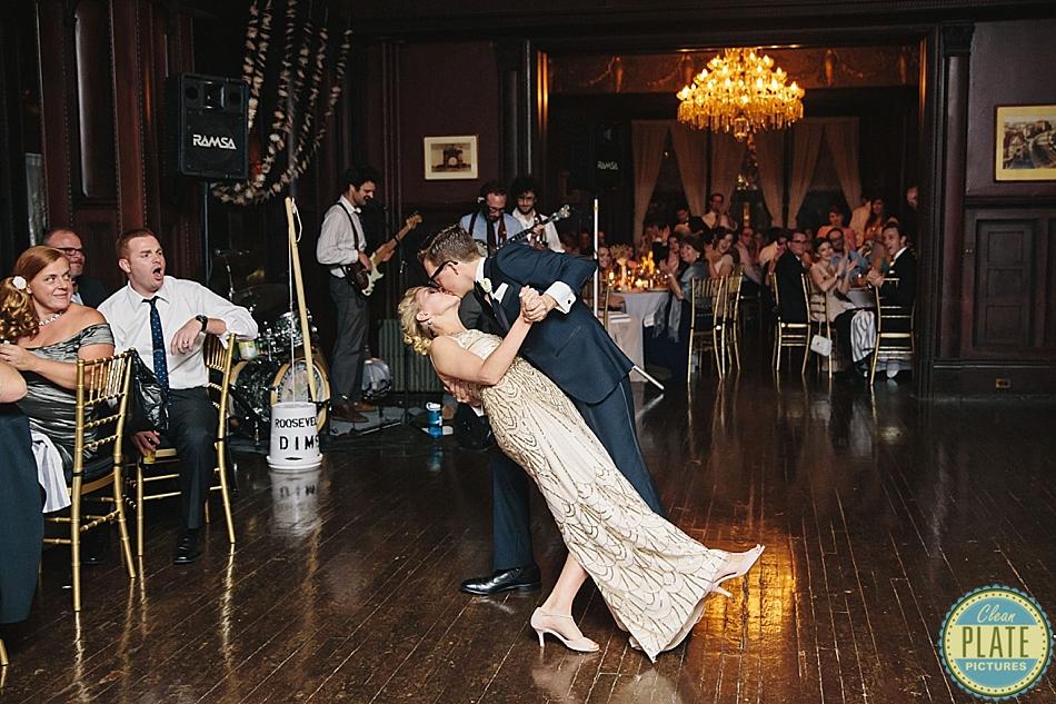 Kara And Scott S Wedding At The Montauk Club In Park Slope Brooklyn Ny