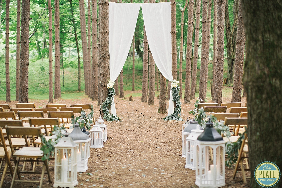 Ceremony Reception The Roxbury Barn Celebrant Great Lakes Chaplain Services Planner All Who Wander Event Design Dress Jenny Packham Shoes