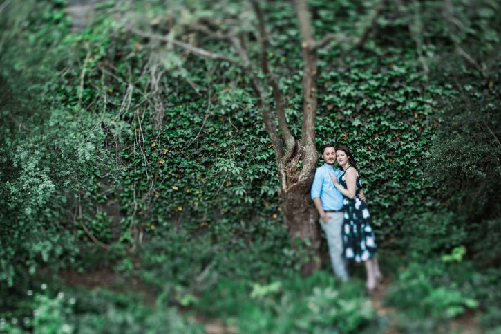 FORT TRYON PARK ENGAGEMENT <br> Hilary + Ian 16