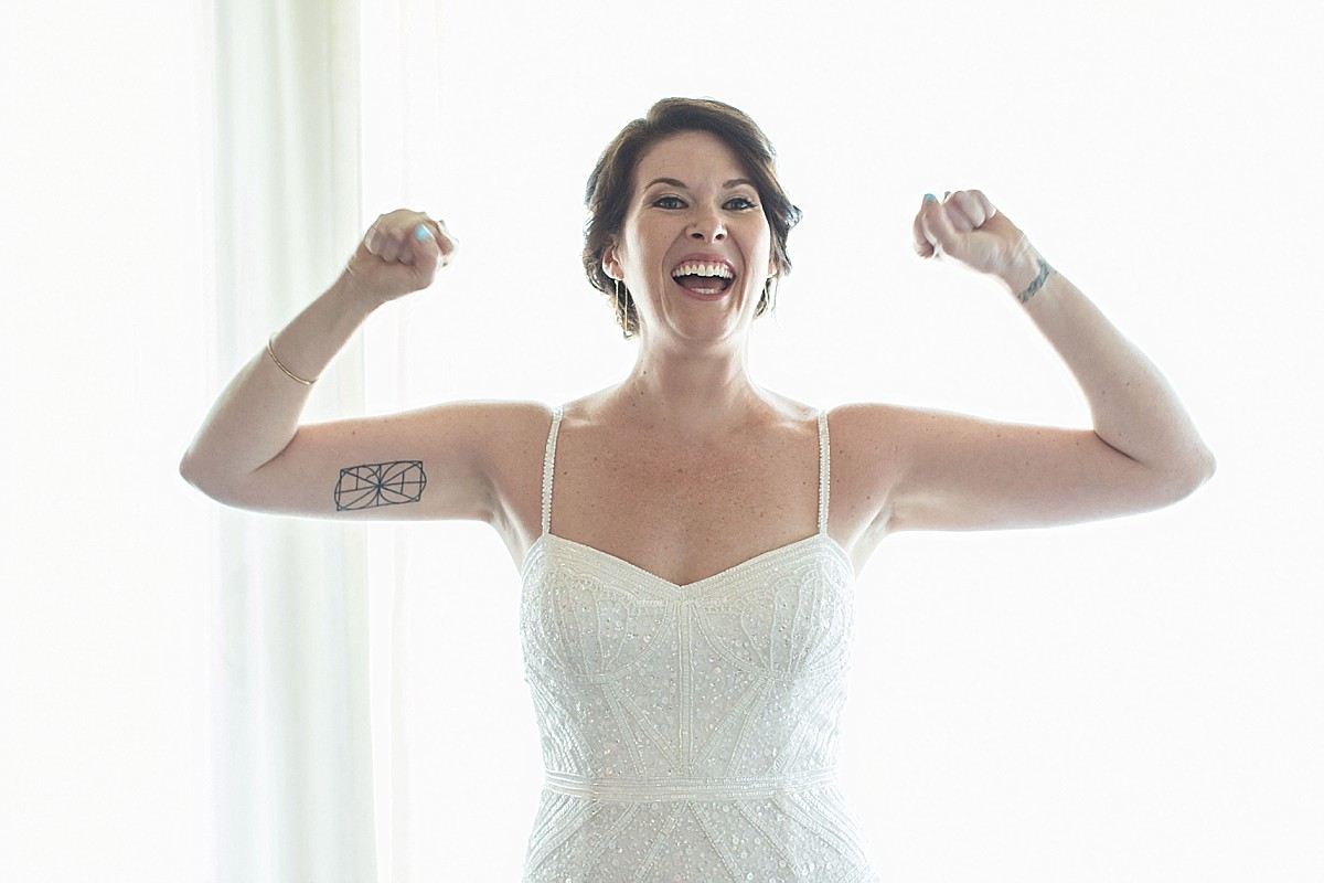 Fun, candid bridal portraits by Clean Plate Pictures, Hudson Valley Wedding Photographer