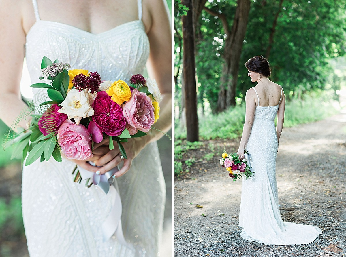 Bridal portraits in Beacon, NY by Clean Plate Pictures, Hudson Valley Wedding Photographer