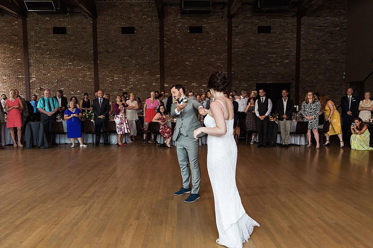 ROUNDHOUSE, BEACON WEDDING - Hillary + Ian