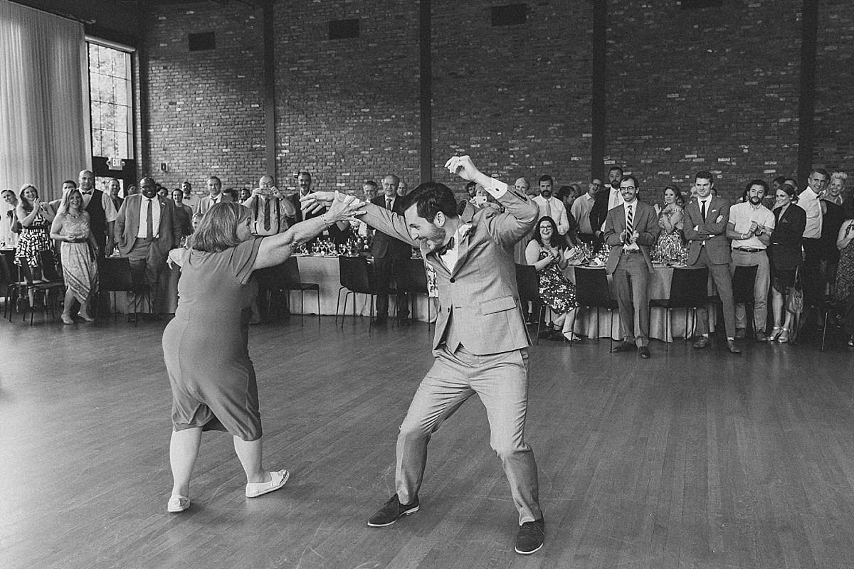 Fun mother-son dance photos at the Roundhouse, Beacon, NY by Clean Plate Pictures, Hudson Valley wedding photographer