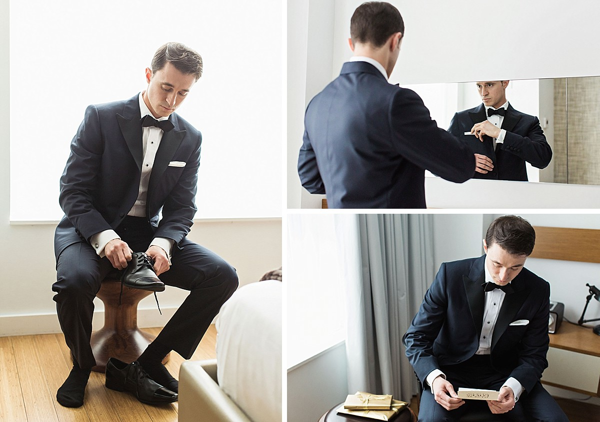 Wythe Hotel Candid Getting Ready Photos by Clean Plate Pictures, Brooklyn Wedding Photographer