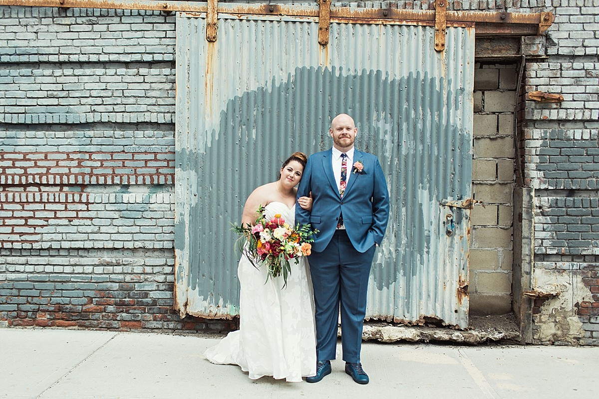 Green Point Loft Wedding - Jennifer + Will | Clean Plate Pictures