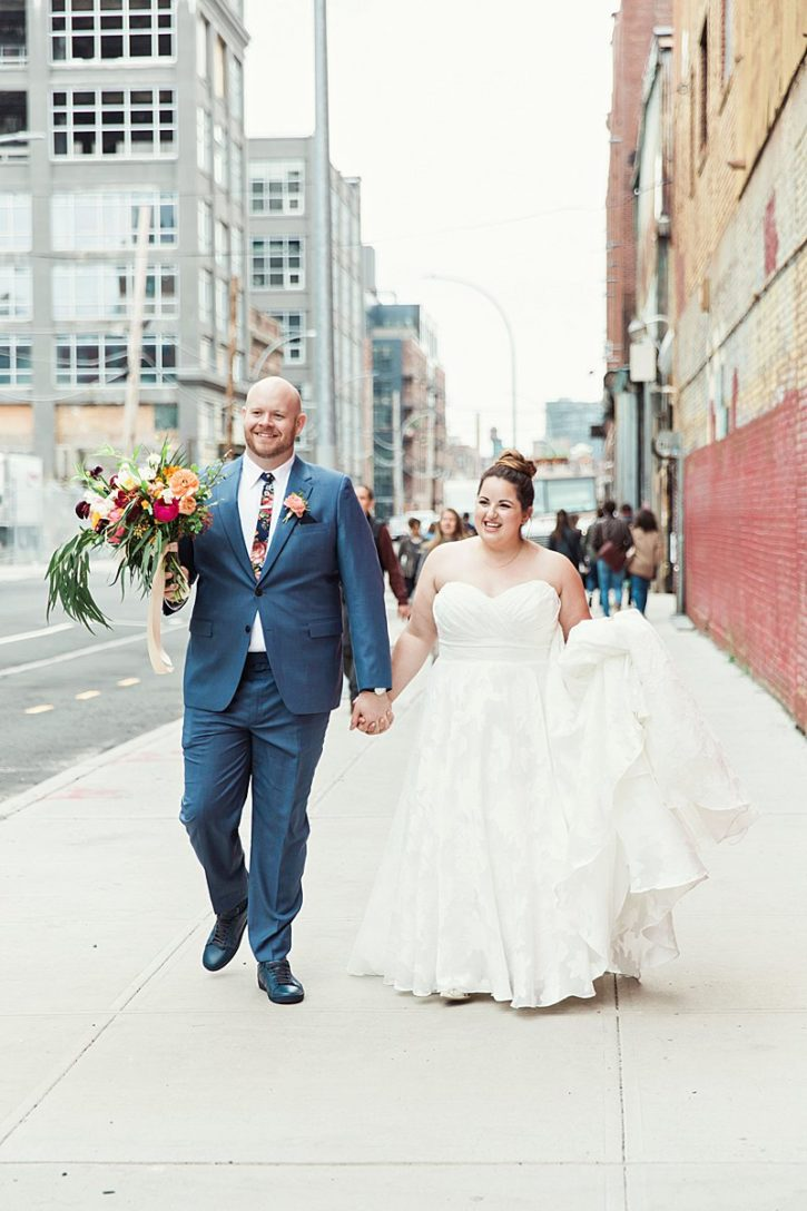 Greenpoint Loft, Brooklyn Wedding