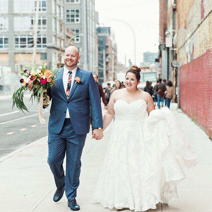 Greenpoint Loft, Brooklyn Wedding