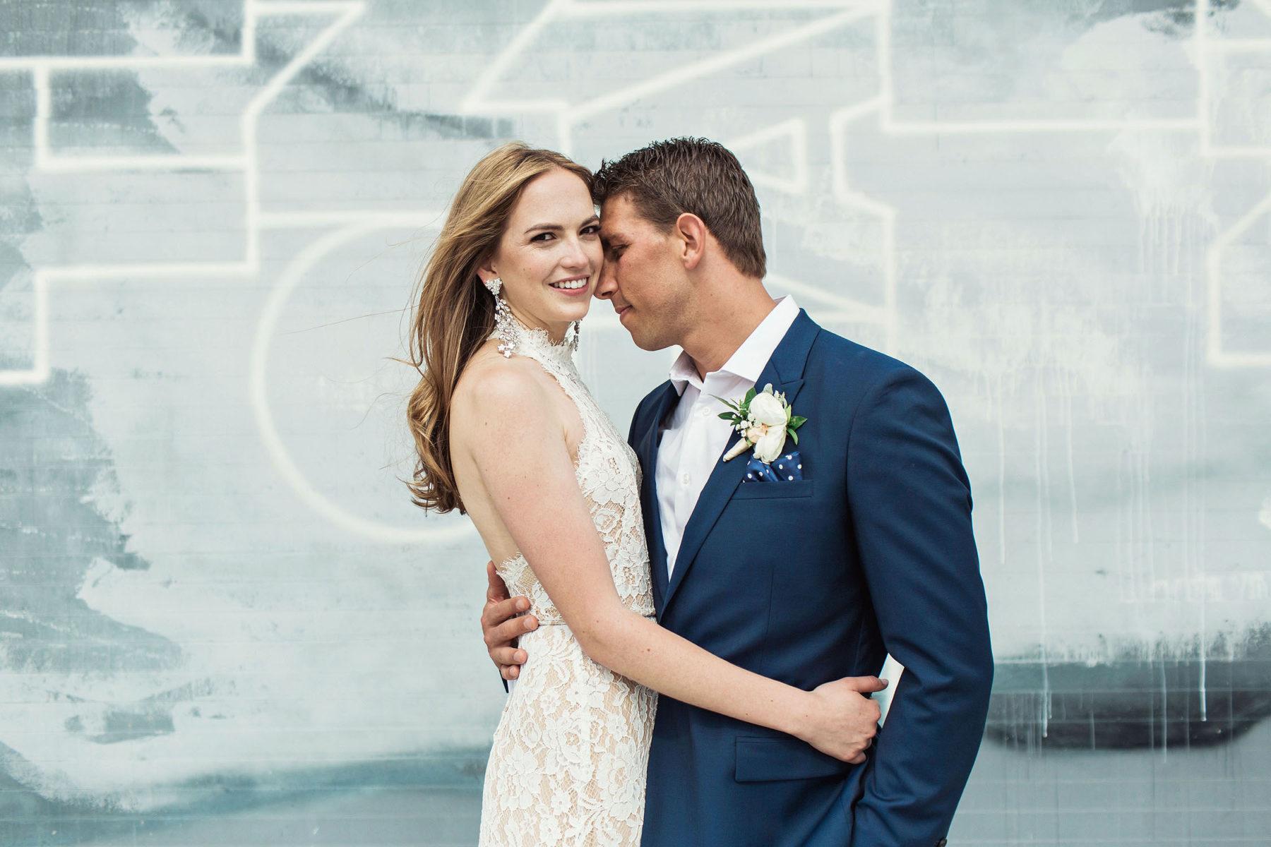 Bushwick Wedding Portraits - Awesome Brooklyn Wedding Photographer
