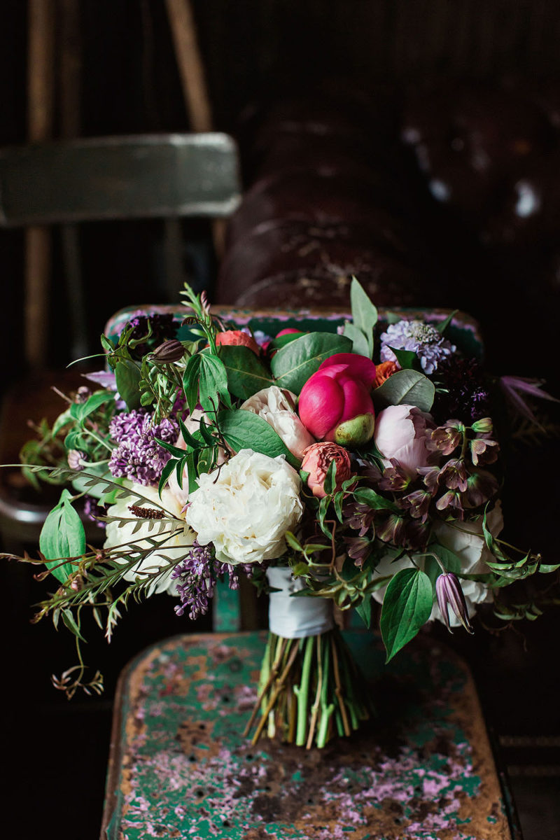 Bouquet Details Pictures - Best Brooklyn Winery Wedding Photographers