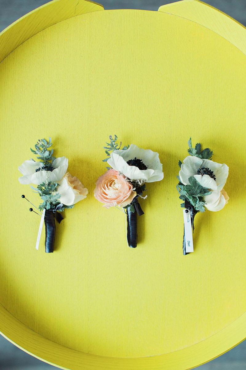 Floral Weddign Details - Brooklyn Wedding Photographers