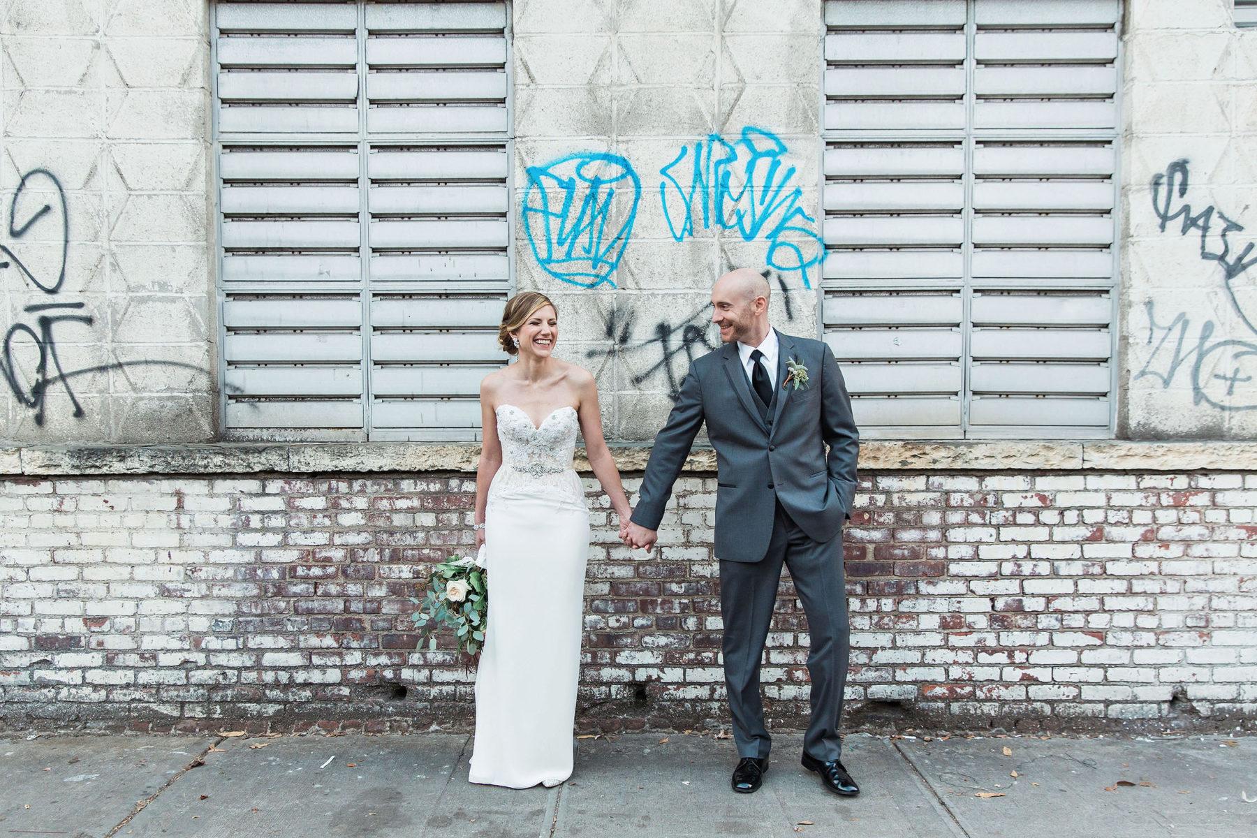 Graffiti Wedding Street Photography