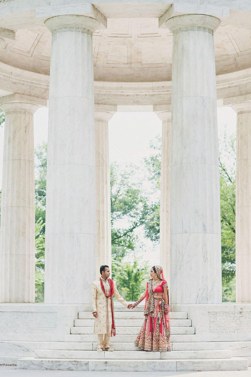 Indian Wedding Portraits - Washington DC Wedding Photography