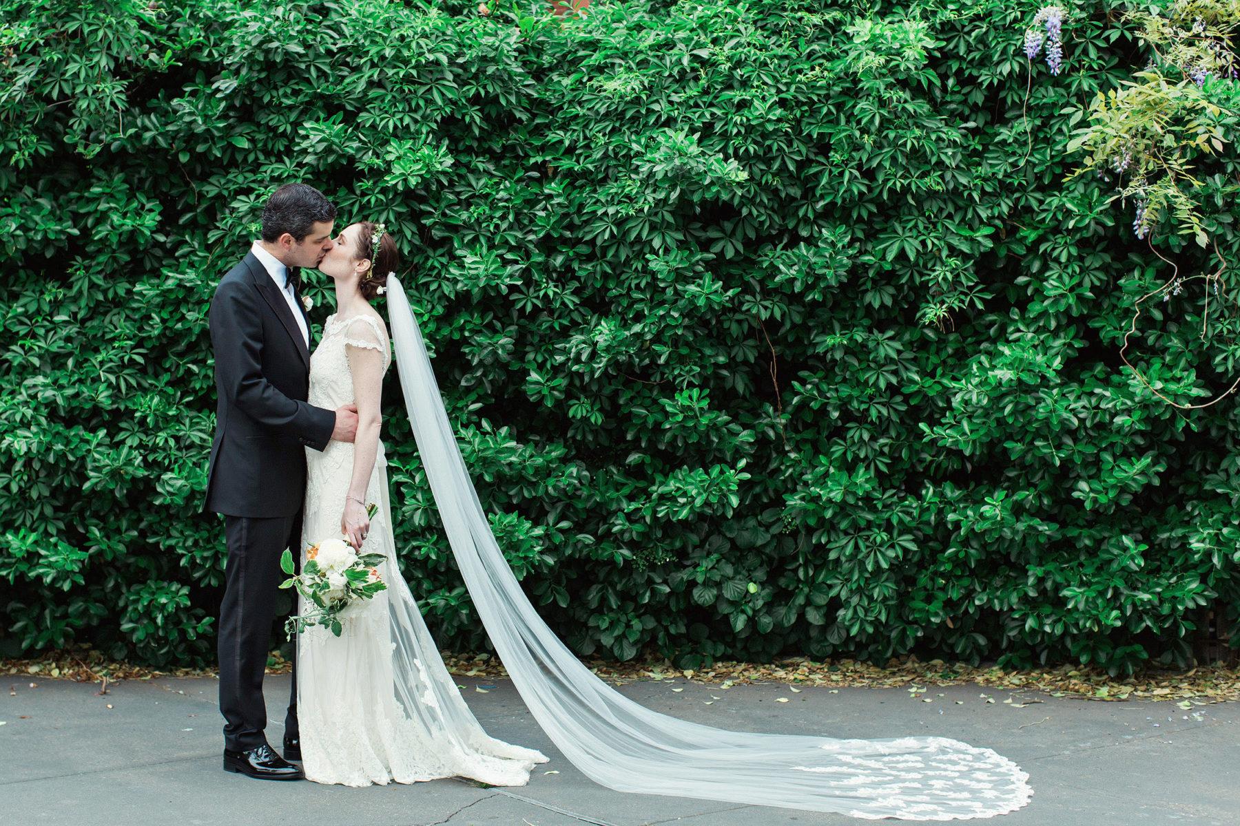 Bride and Groom Portraits in Brooklyn - Top Brooklyn Wedding Photographer