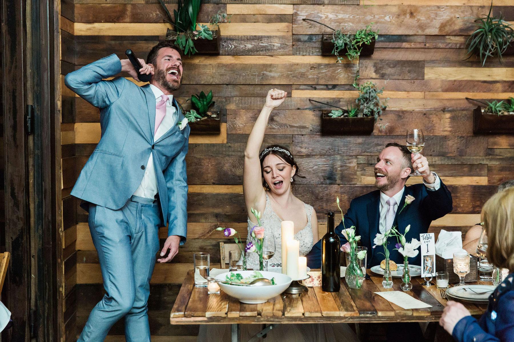 Brooklyn Winery Wedding Reception - Williamsburg Wedding Photography