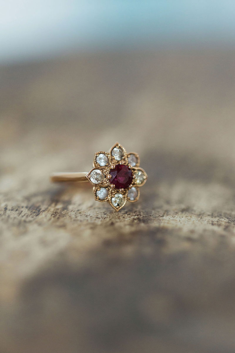 Engagement Ring Pictures - Brooklyn Wedding Photography