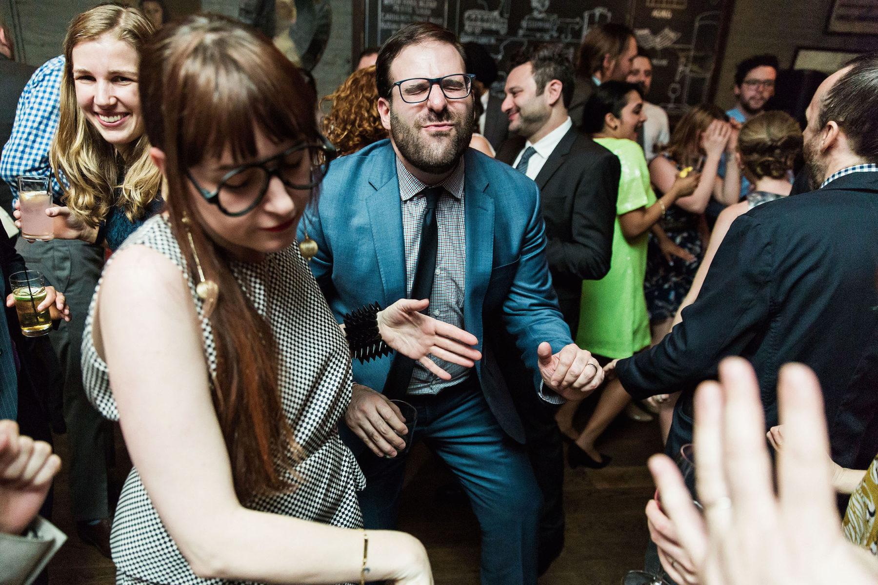 Brooklyn Winery Wedding Reception Photos