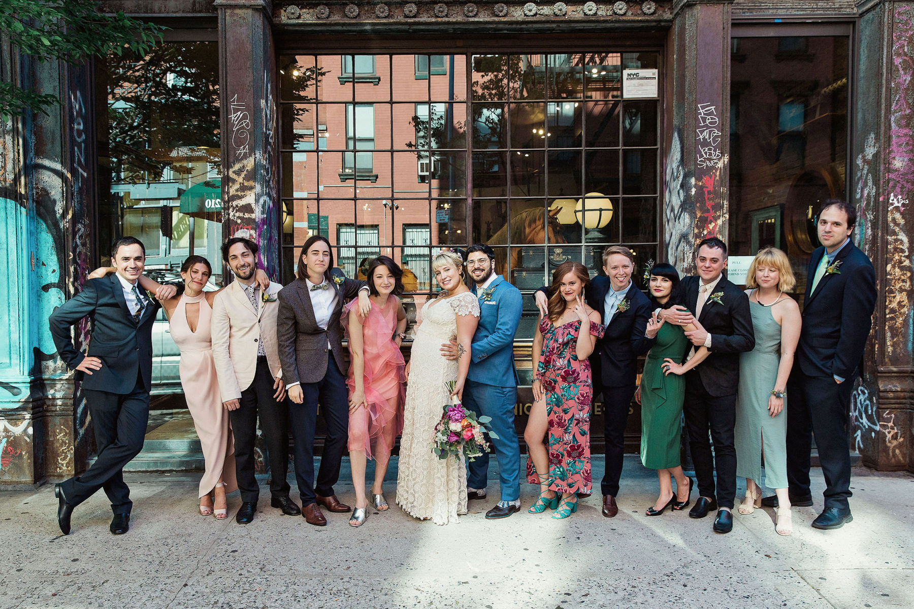 Cool Wedding Party Pictures - Brooklyn Wedding Photography
