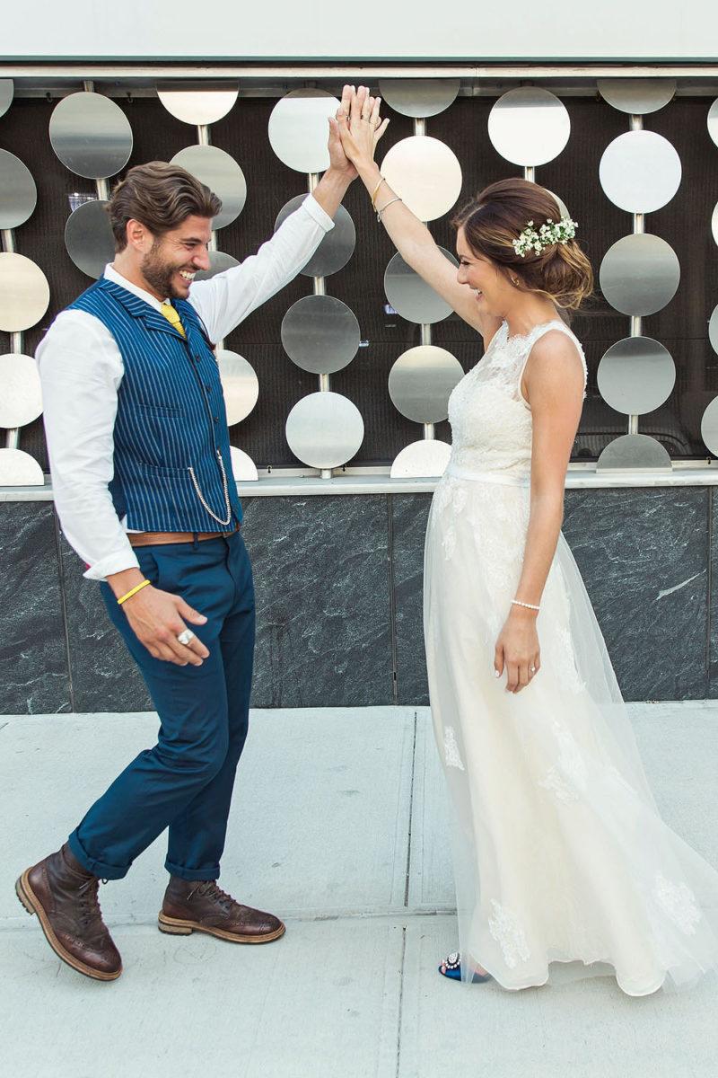 Brooklyn Wedding First Look Photos