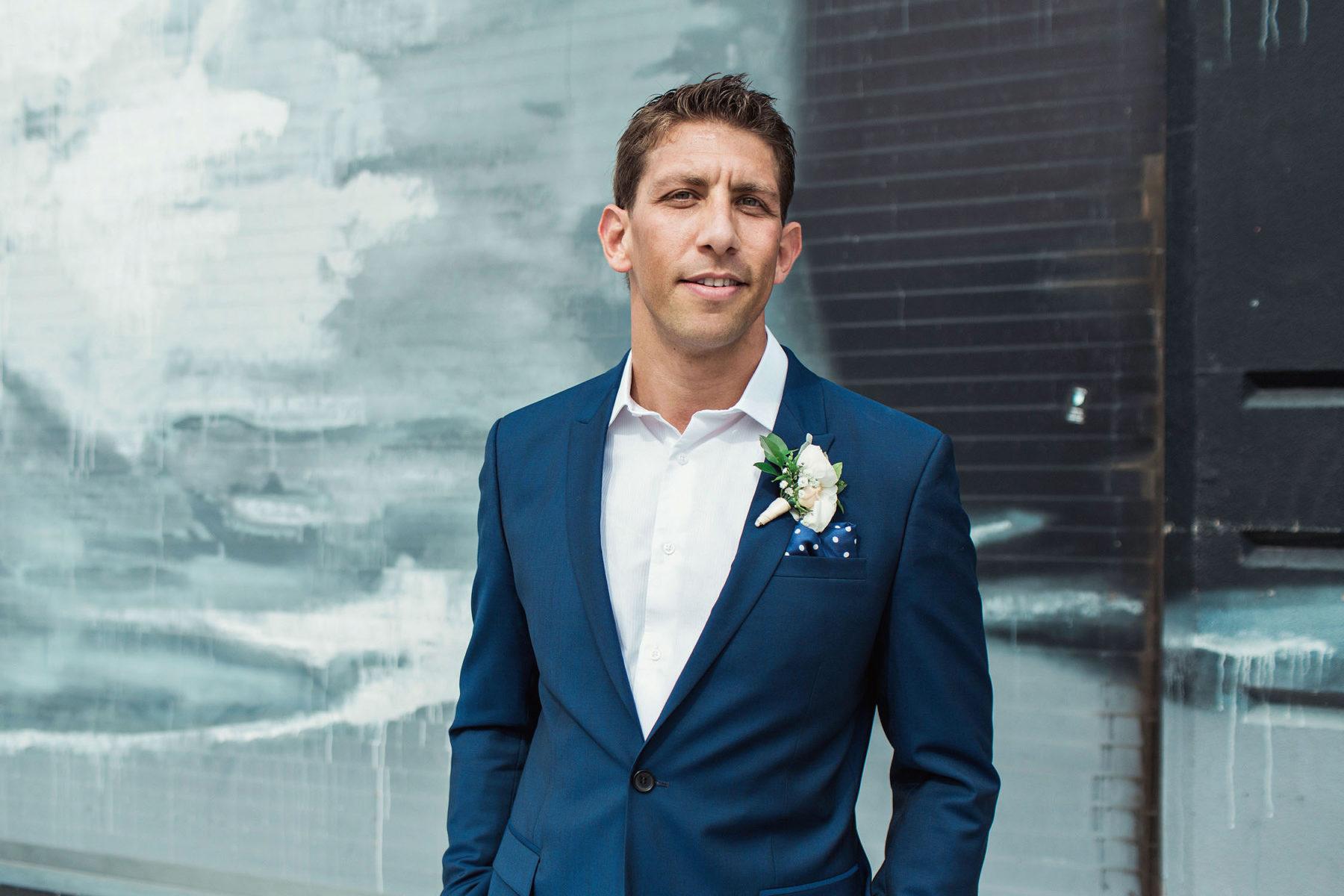 Grooms Portraits - Brooklyn Wedding Photography
