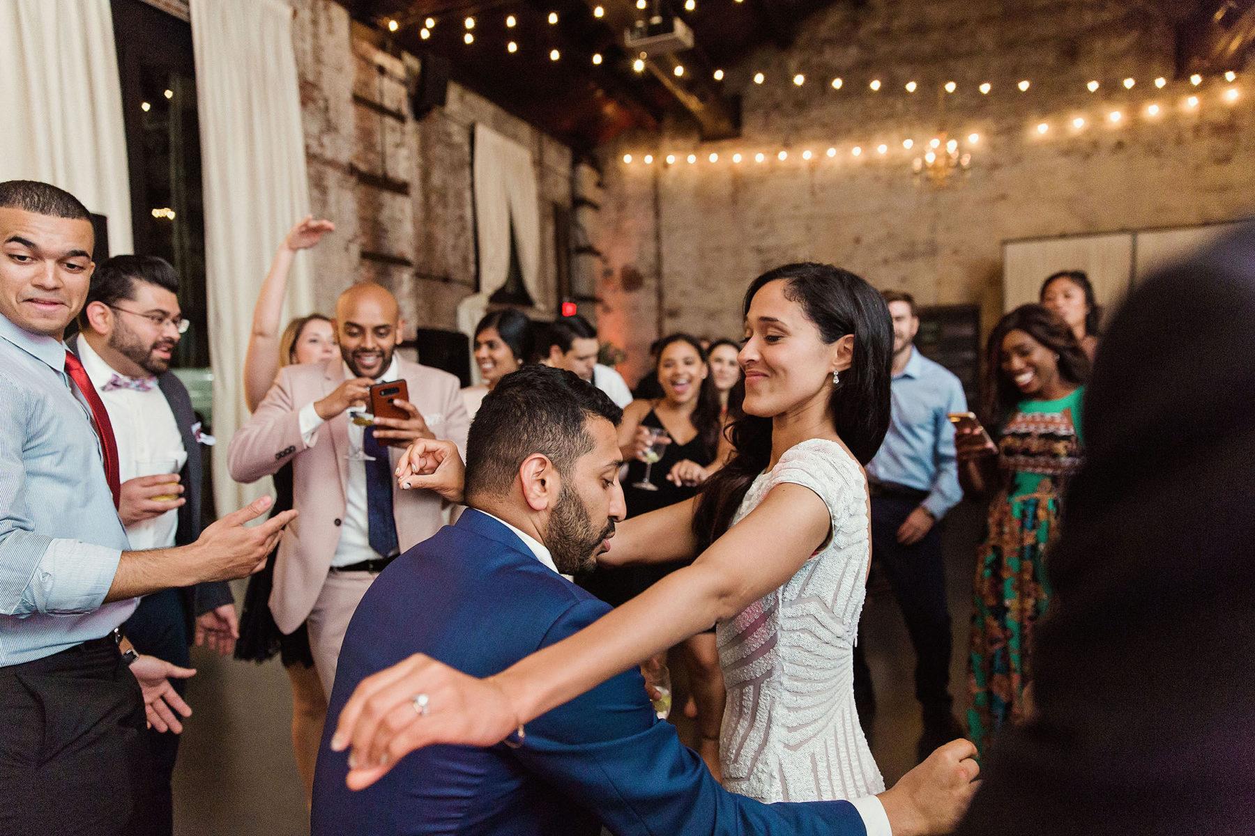 Brooklyn Wedding Reception Photographer